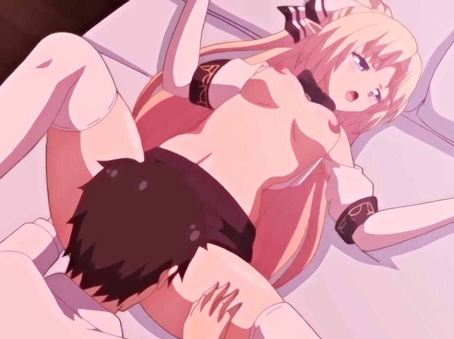 美少女金髪JKの制服からこぼれる乳房を味わい、スカートの中のオマンコに突撃ヒューマン!!